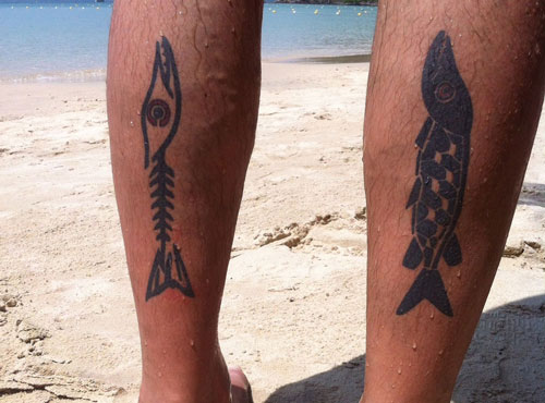 PIKE SWIMS TATTOO, ROBERT