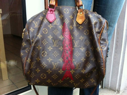 PIKE SWIMS LOUIS VUITTON, LOUISE